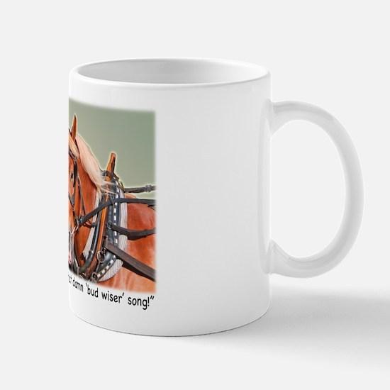 Belgian Draft Horse Song Mug