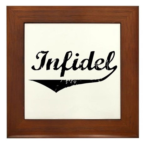 Infidel Framed Tile
