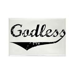 Godless Rectangle Magnet (10 pack)