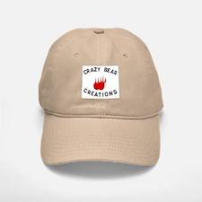 Crazy Bear Logo Baseball Baseball Cap