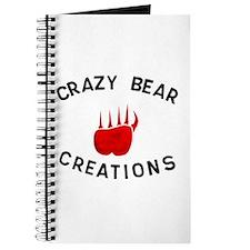 Crazy Bear Logo Journal