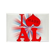 I No Heart Alabama Rectangle Magnet