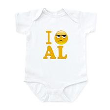 Cute Fuck al Infant Bodysuit