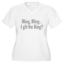 Bling, Bling, I Got The Ring! T-Shirt