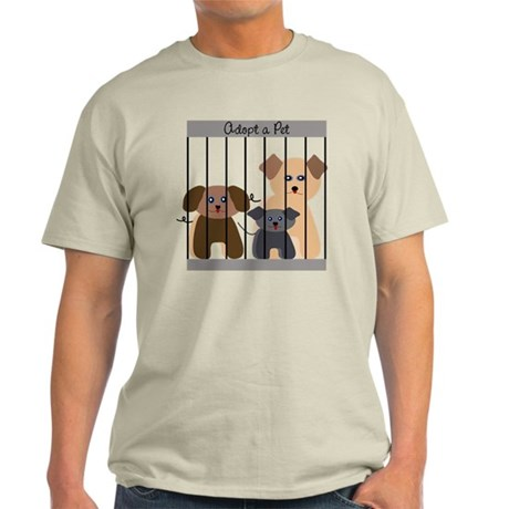 Adopt a Pet, light T-Shirt