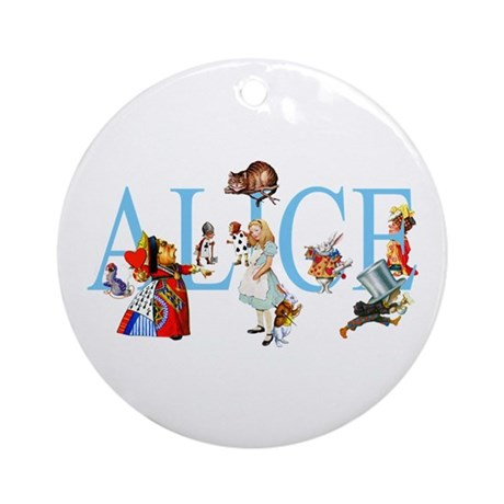 ALICE & FRIENDS Ornament (Round)