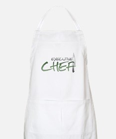 Green Executive Chef BBQ Apron