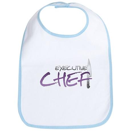 Purple Executive Chef Bib