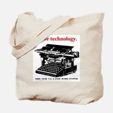 I love technology. Tote Bag