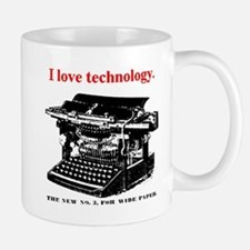 I love technology. Mug