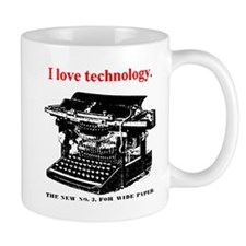 I love technology. Mug