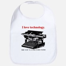 I love technology. Bib