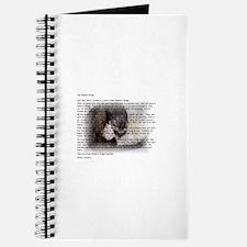 Cute Rainbow ferret Journal