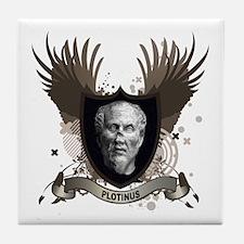 Plotinus Greek Philosopher Tile Coaster