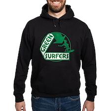Green Surfers Hoodie