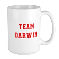 Team Darwin Large Mug