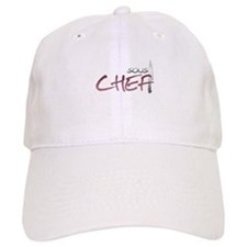 Red Sous Chef Baseball Cap