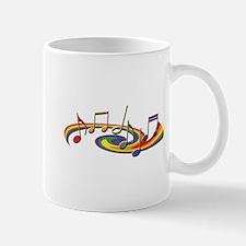 Rainbow Music Mug