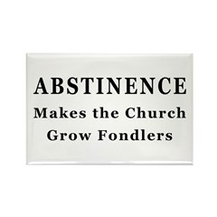 Abstinence Rectangle Magnet (100 pack)