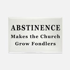 Abstinence Rectangle Magnet (10 pack)