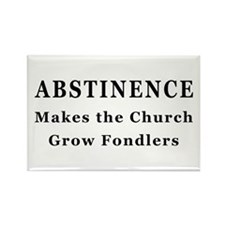 Abstinence Rectangle Magnet