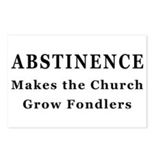 Abstinence makes fondlers Postcards (Package of 8)