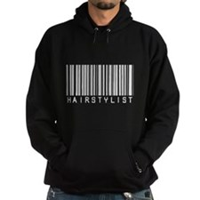 Hairstylist Barcode Hoodie