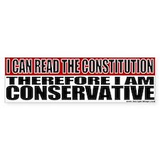 Conservative Constitution Bumper Bumper Sticker