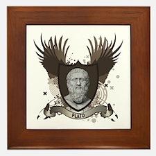 Plato Greek Philosopher Framed Tile
