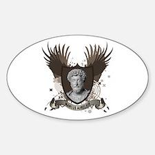MARCUS AURELIUS Oval Decal