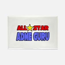 """All Star ADME Guru"" Rectangle Magnet"