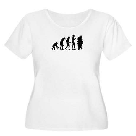 Evolution Women's Plus Size Scoop Neck T-Shirt