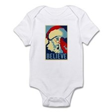 Graphic Santa Infant Bodysuit