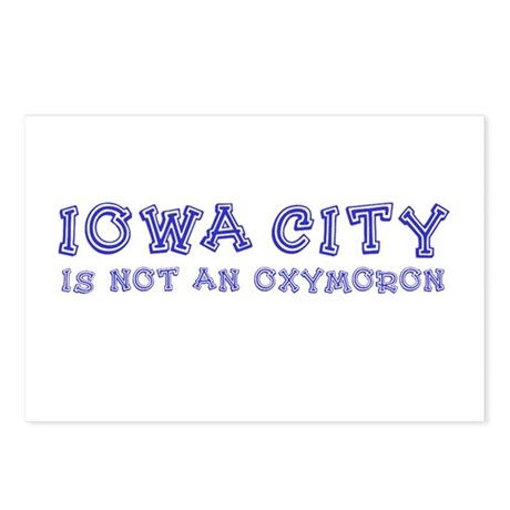 Iowa City Oxymoron Postcards (Package of 8)
