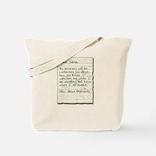 Santa Stalker Tote Bag