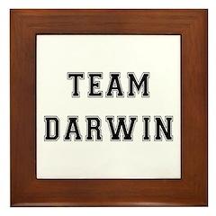 Team Darwin Framed Tile