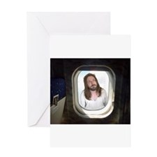 Fly With Jesus Greeting Card