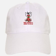Pirate Christmas Angel Baseball Baseball Cap
