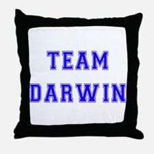 Team Darwin Throw Pillow