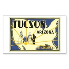 Arizona US Rectangle Decal