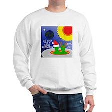 ALIEN CHRISTMAS WISH Sweatshirt
