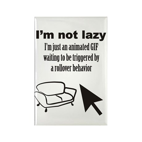 Animated GIF Rectangle Magnet (10 pack)