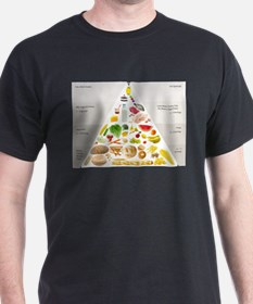 Funny Food pyramid T-Shirt