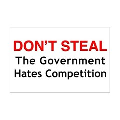 Don't Steal Posters