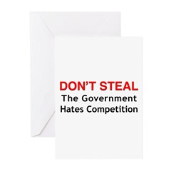 Don't Steal Greeting Cards (Pk of 20)