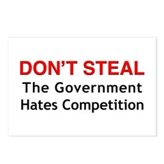 Don't Steal Postcards (Package of 8)