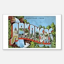 Arkansas US Rectangle Decal
