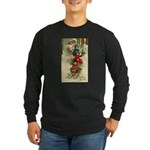 Christmas Sledding Long Sleeve Dark T-Shirt