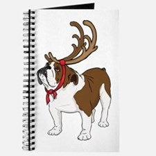 Bulldog in Antlers Journal