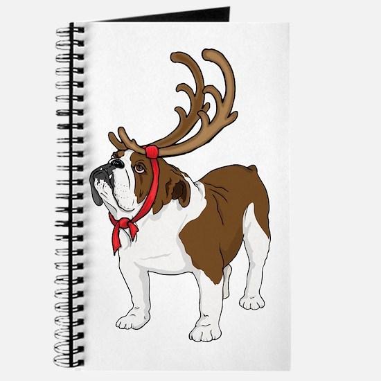 Bulldog in Antlers Journal